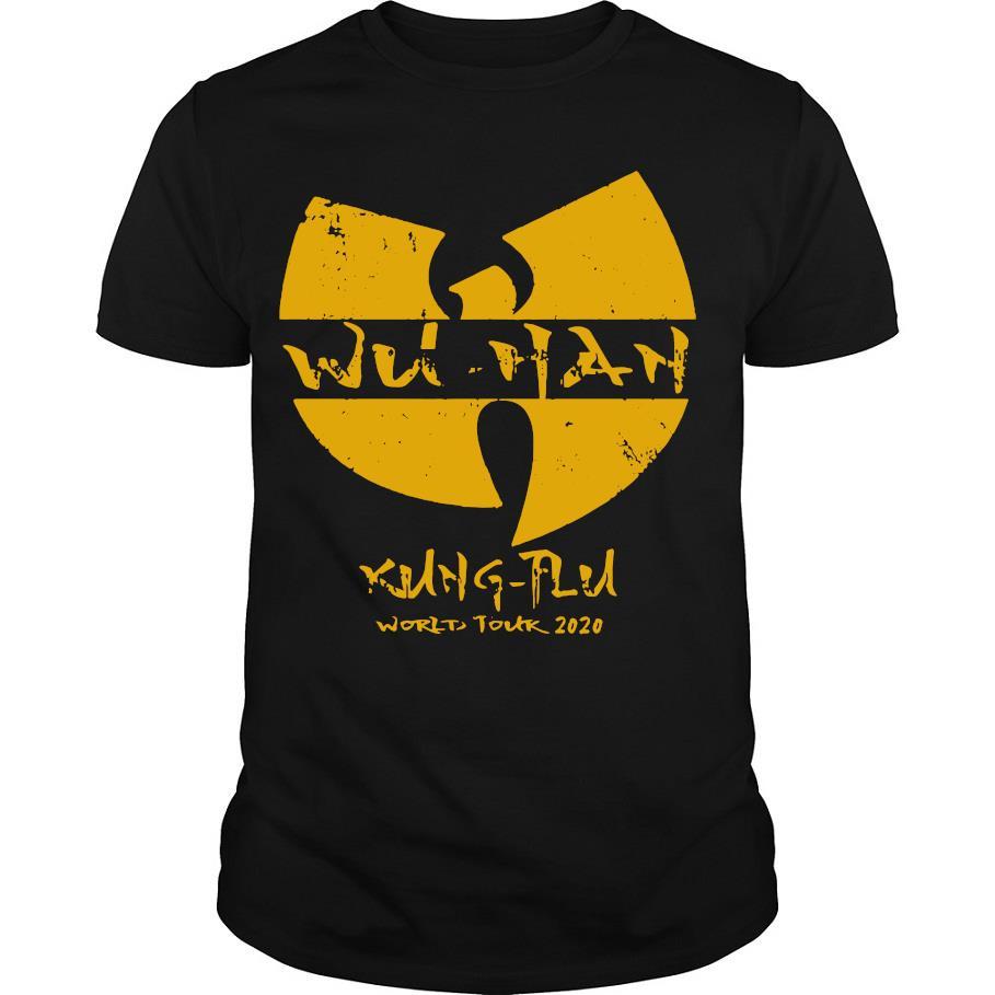 Wu tang Wuhan kung flu world tour 2020 shirt