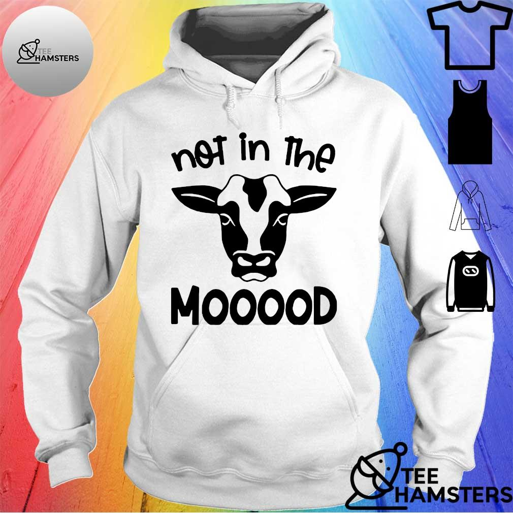 Cow Not In The Mood hoodie