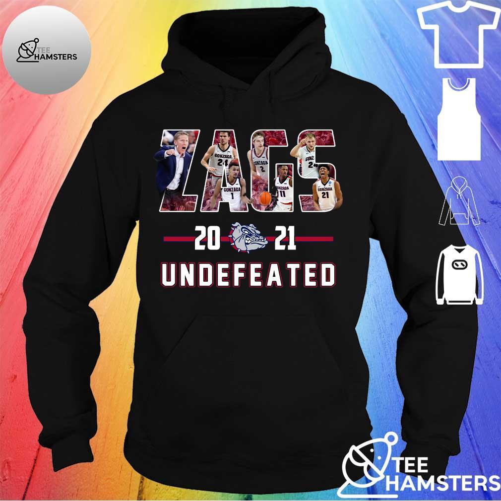 Gonzaga Bulldogs Zags 2021 Undefeated Shirt hoodie