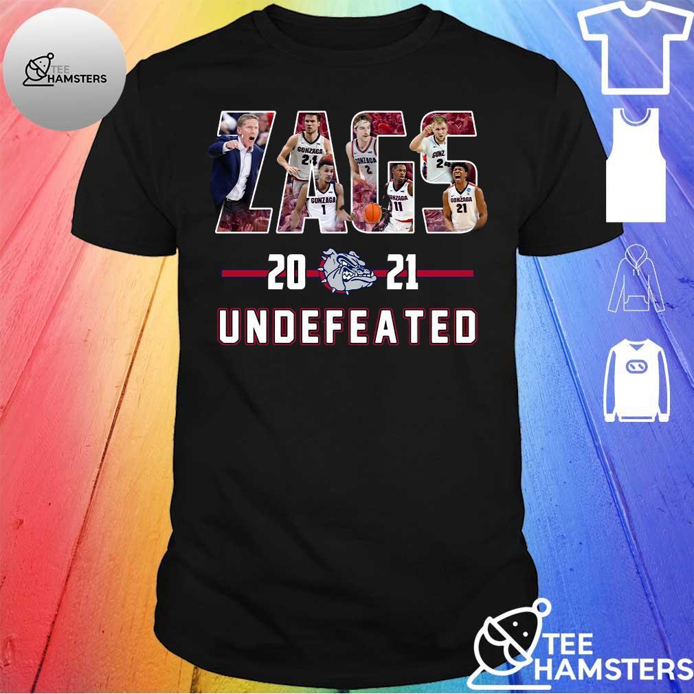 Gonzaga Bulldogs Zags 2021 Undefeated Shirt