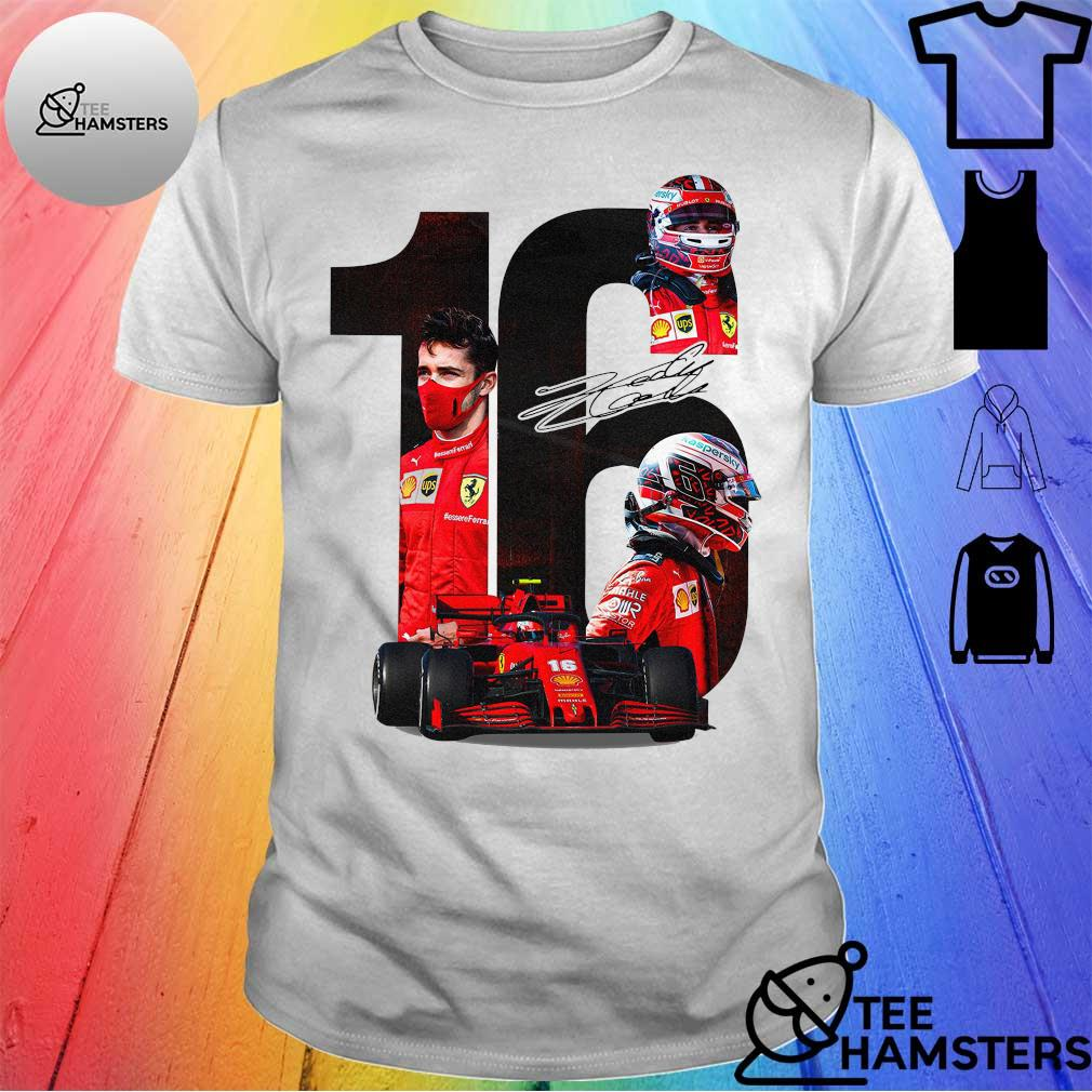 Charles Leclerc 16 F1 Signature Shirt