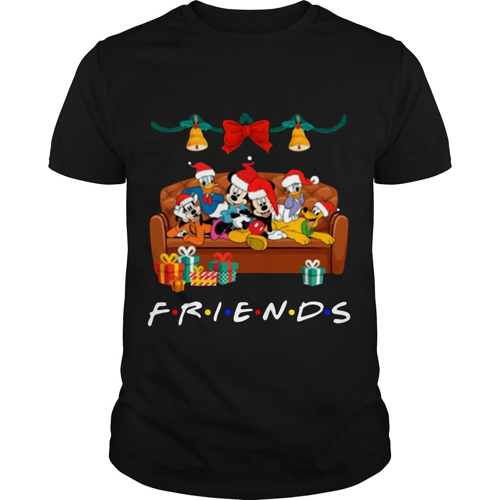 Disney Christmas Shirt Designs.Disney Characters Tv Show Friends Christmas Shirt