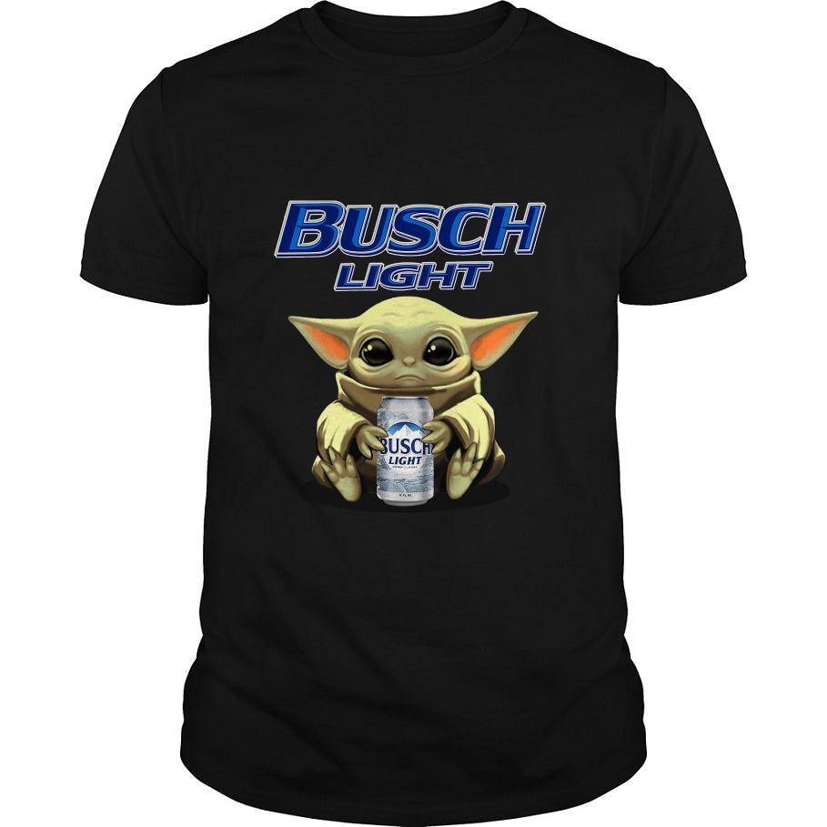 Baby Yoda Hug Busch Light Shirt, Hoodie, Sweater, Tank Top