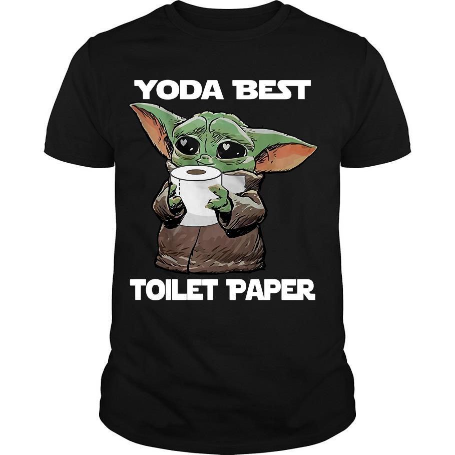Official Baby yoda Yoda best toilet paper shirt