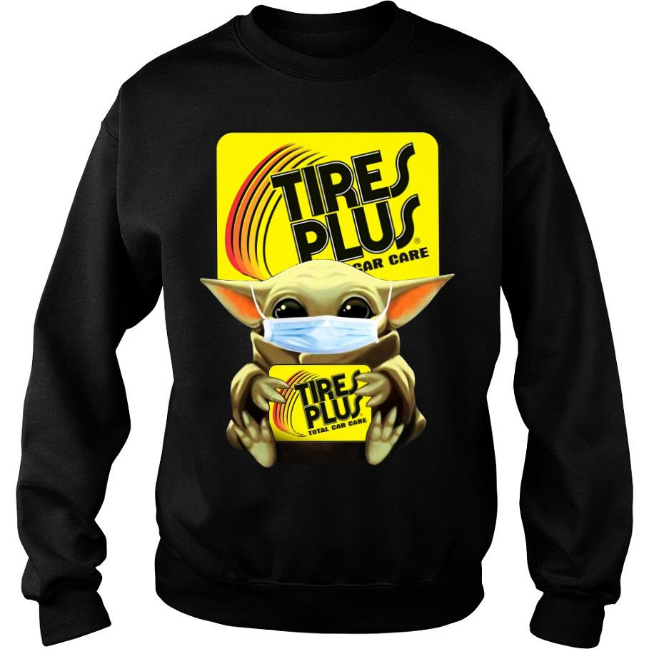 Baby Yoda Mask Hug Tires plus total car care s -sweater