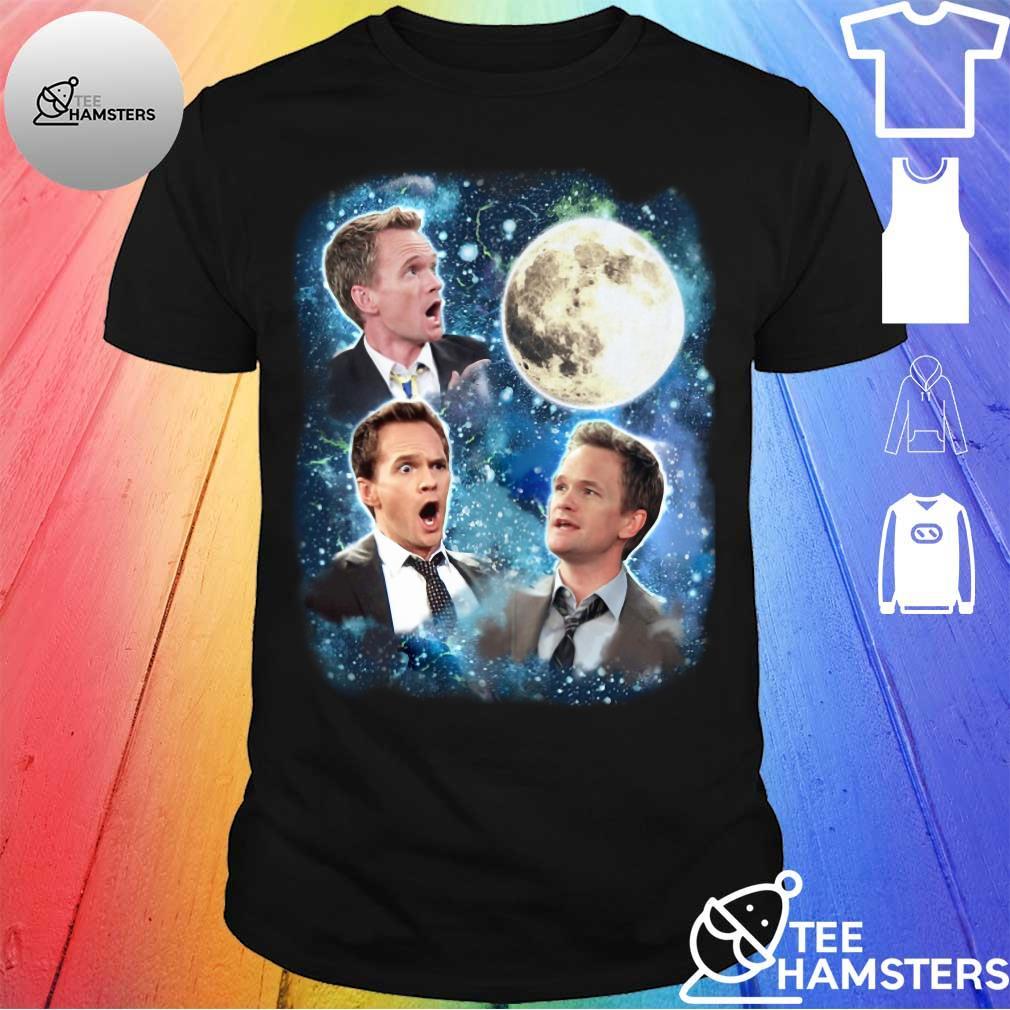 Barney Stinson Wolf Moon shirt