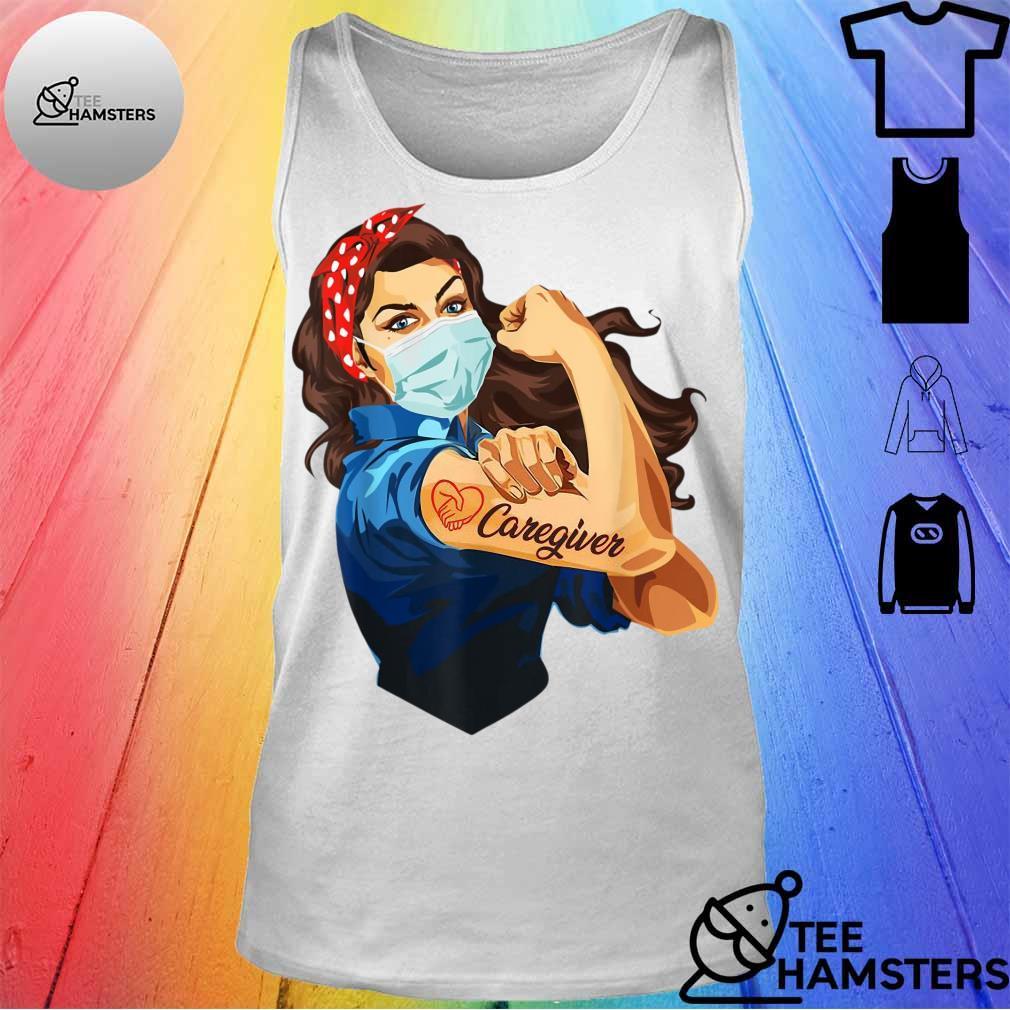 Rosie The Riveter Nurse s tank top