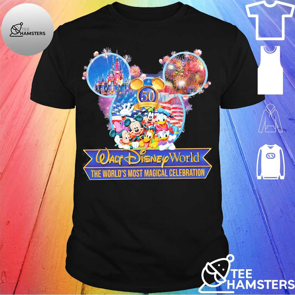 50th anniversary Walt Disney world the world's most magical celebration Shirt