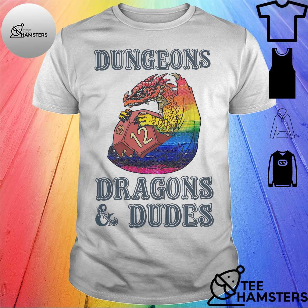 LGBT Dungeons Dragons _ Dudes Shirt