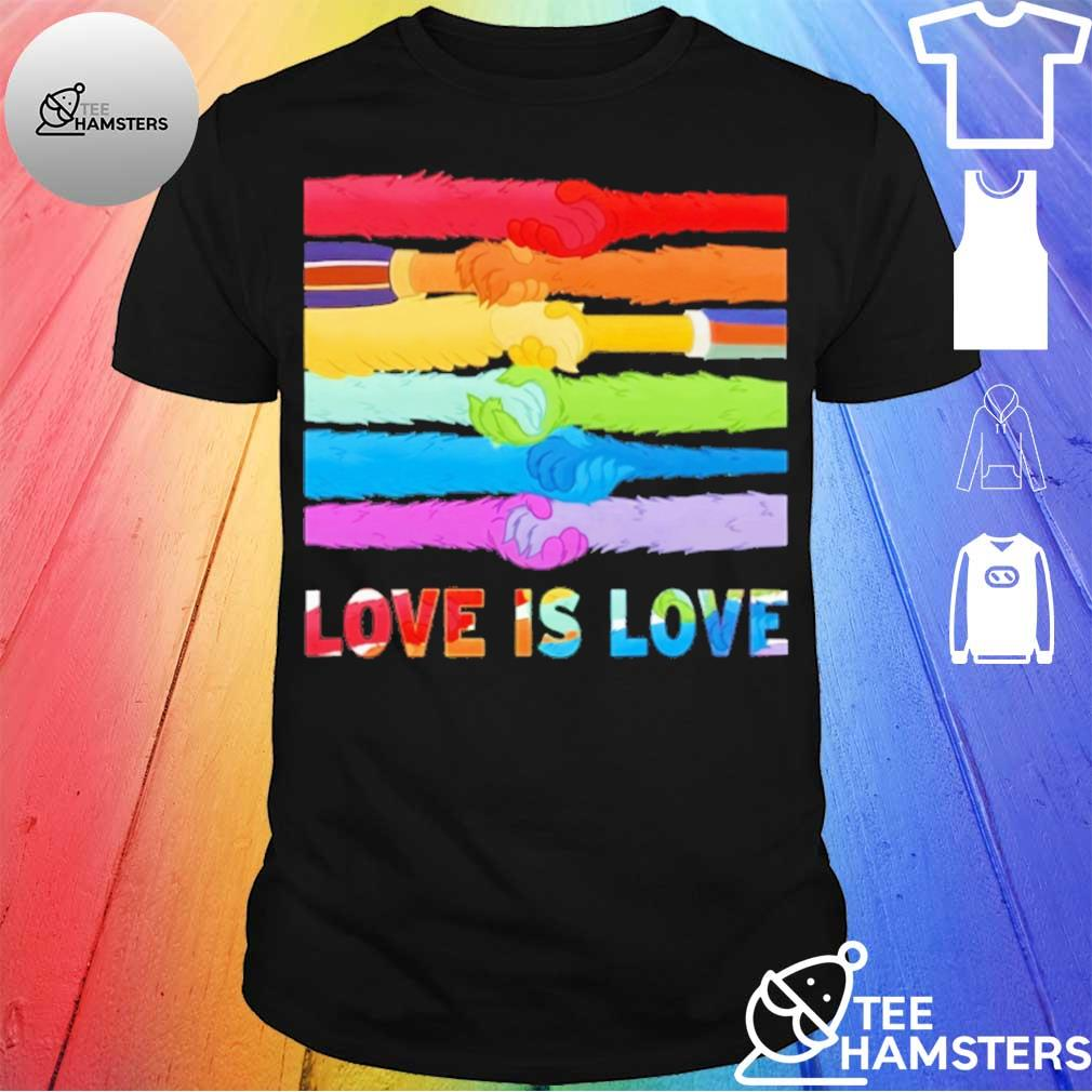 LGBT Love is love shirt