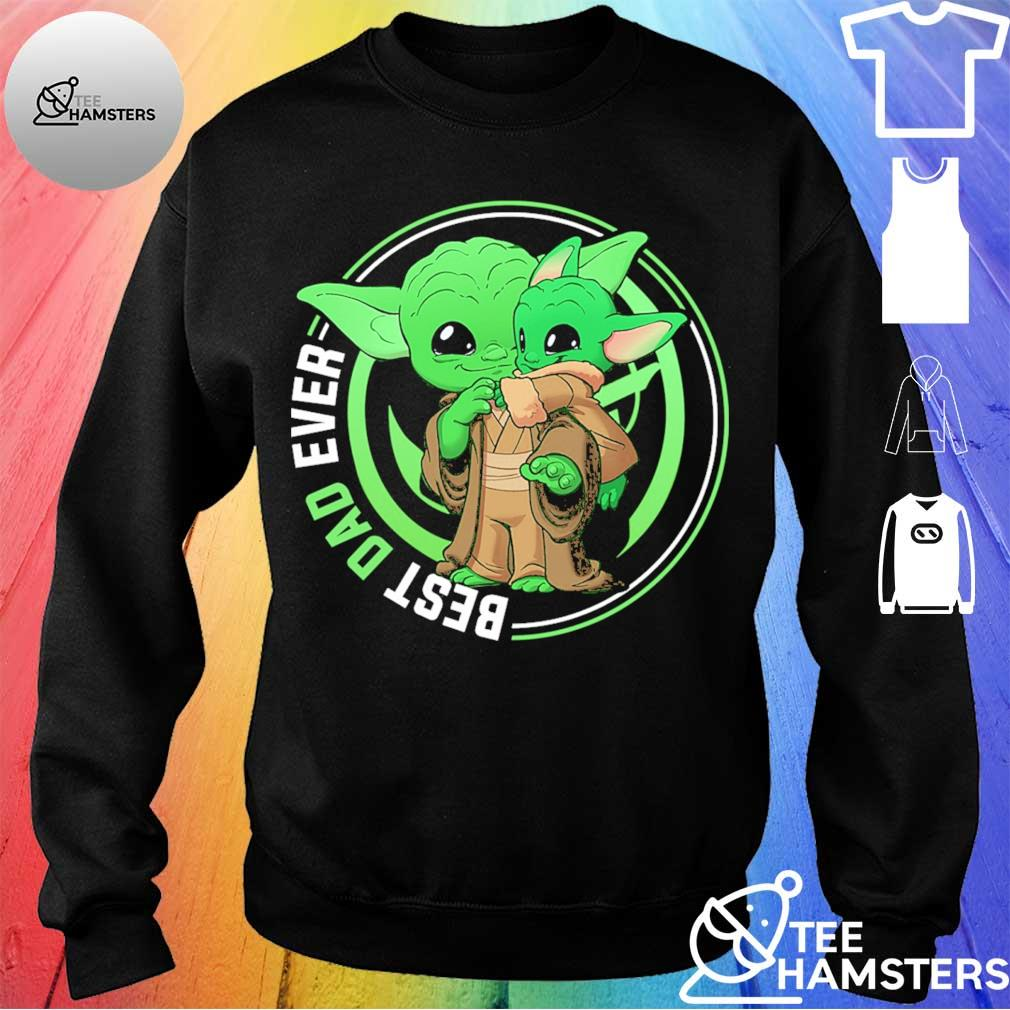 Master Yoda and Baby Yoda best Dad ever s sweater