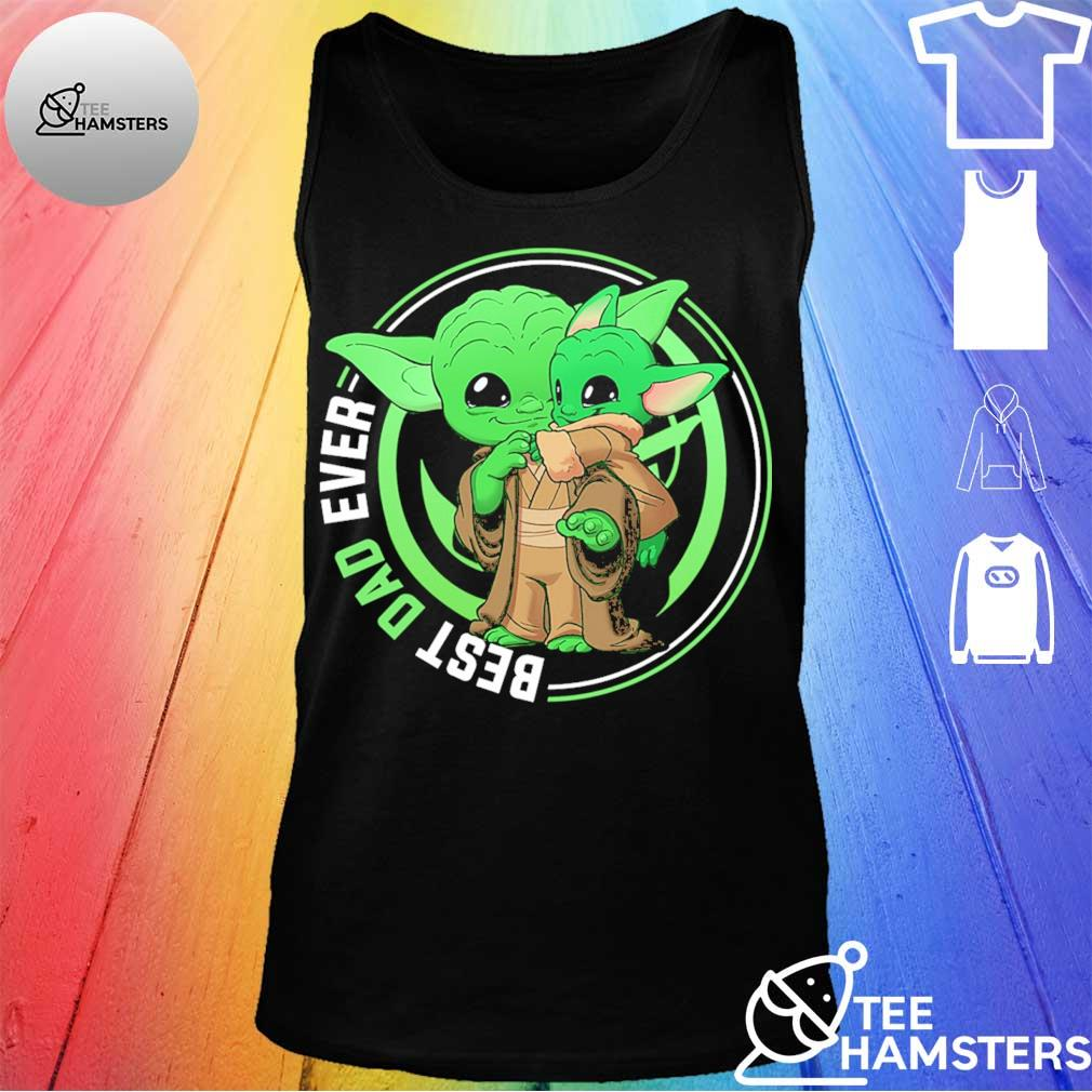 Master Yoda and Baby Yoda best Dad ever s tank top