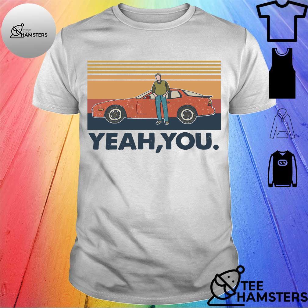 Retro sunset Yeah You shirt