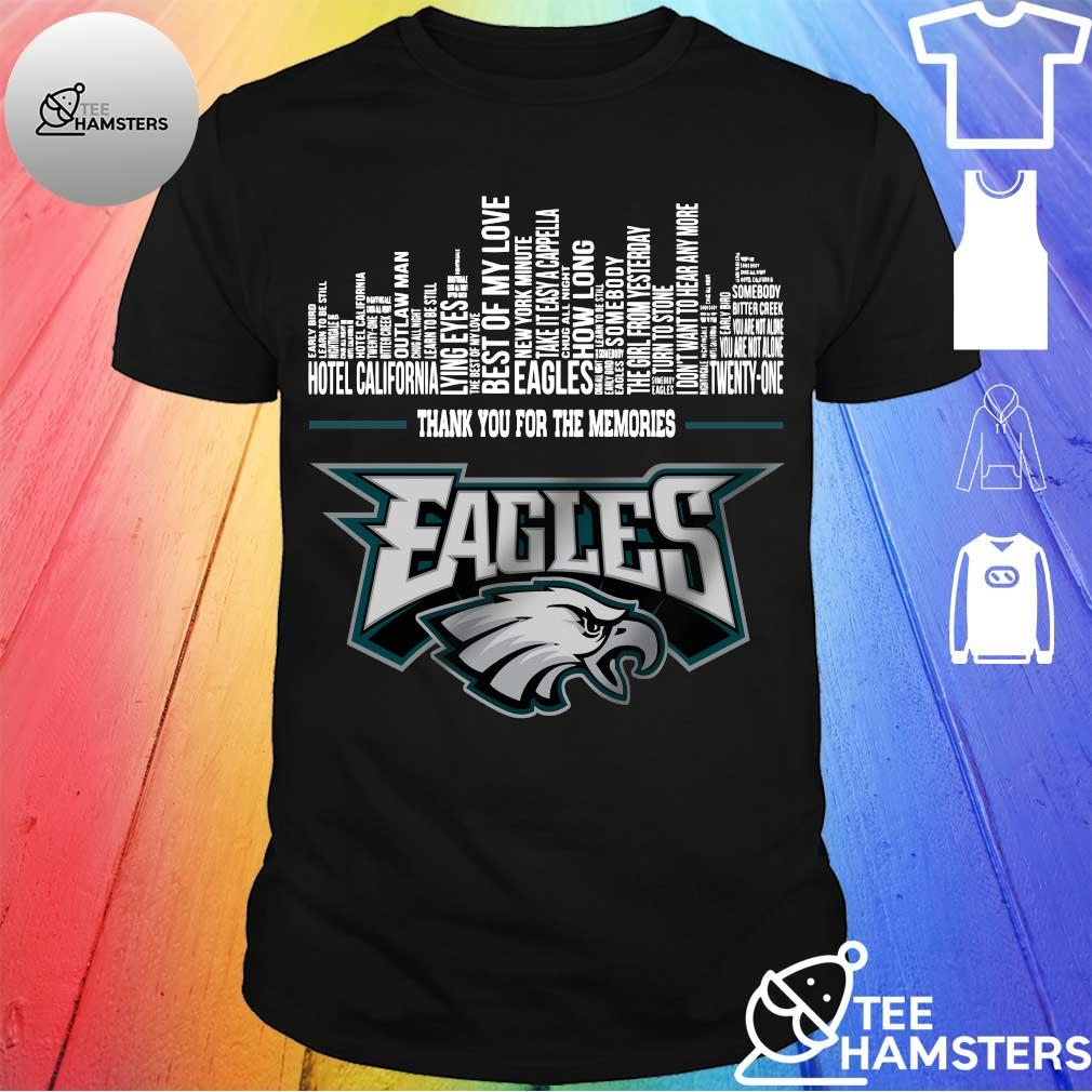 Thank You for the memories Philadelphia Eagles shirt