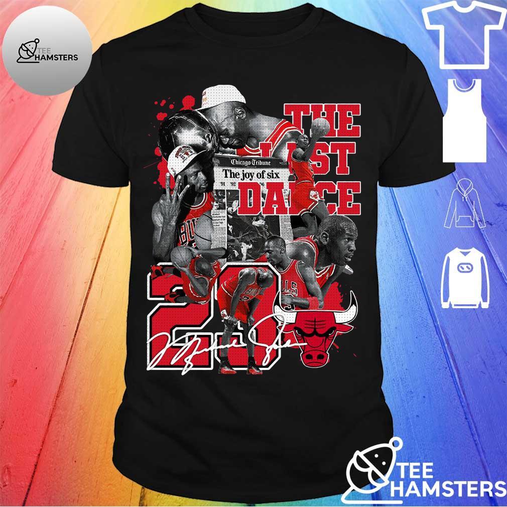 The last Dance 23 Michael Jordan Signature shirt