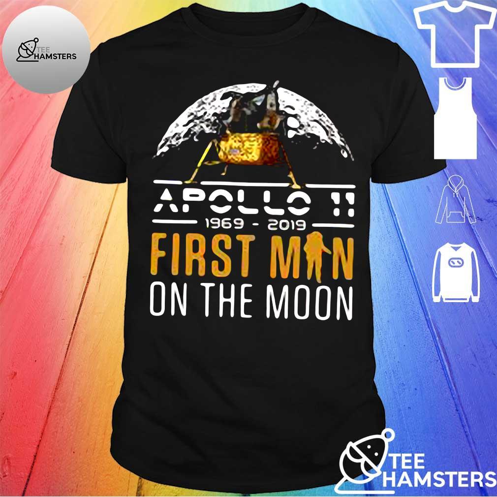 50th Anniversary Apollo 11 Moon Landing 1969 Shirt in Celebration of NASA Lunar Mission shirt