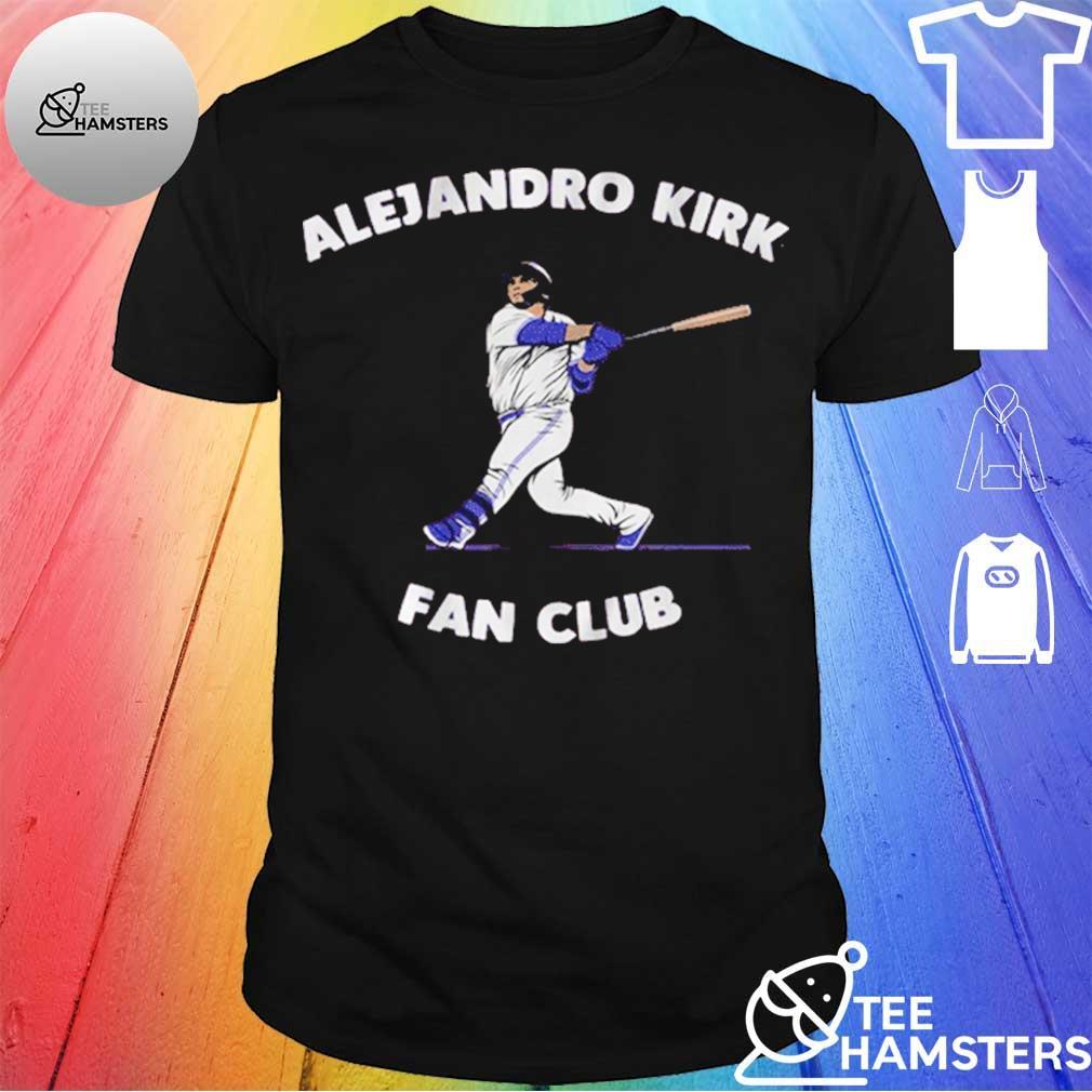 ALEJANDRO KIRK FAN CLUB SHIRT