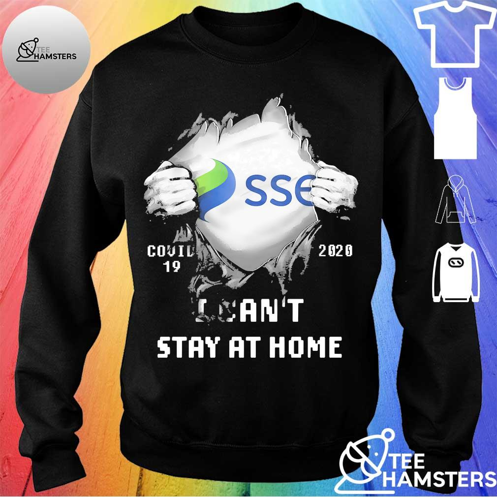 Blood inside me SSE covid 19 2020 I can't stay at home s sweater