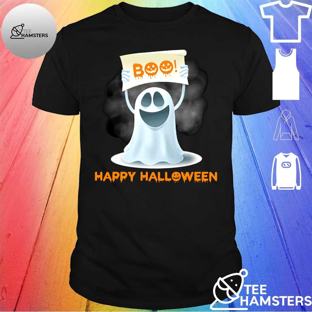 booHAPPY HALLOWEEN shirt