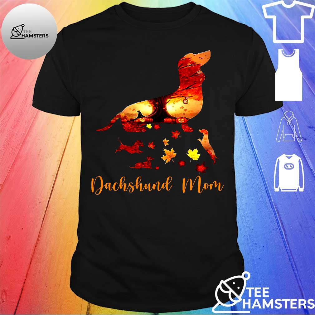 Dog dachshund mom shirt