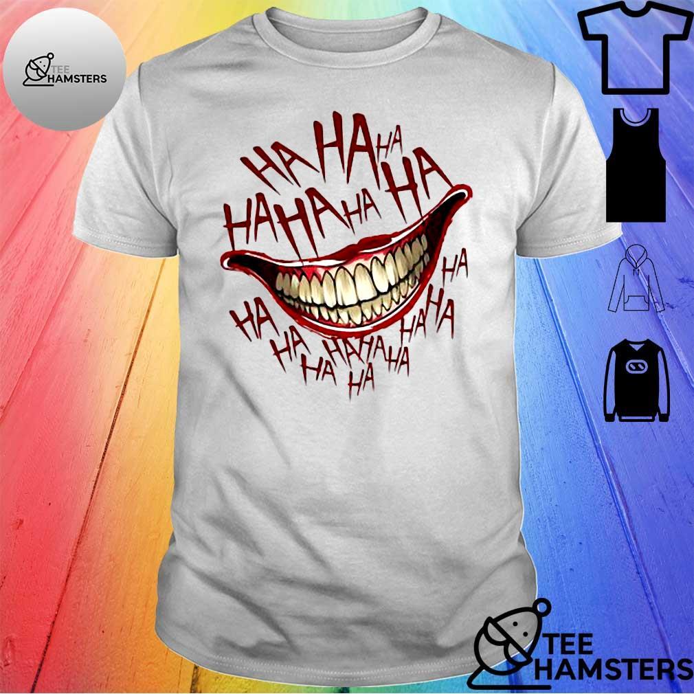 Hahaha Joker Smile shirt