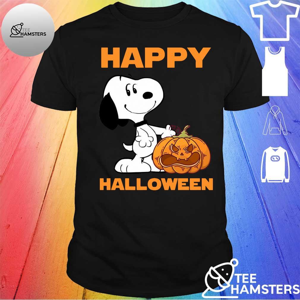 Happy snopy halloween shirt