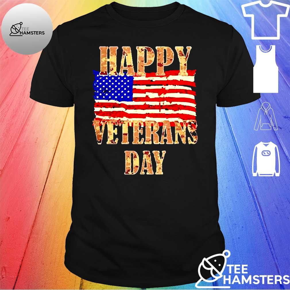 Happy Veterans day American Shirt