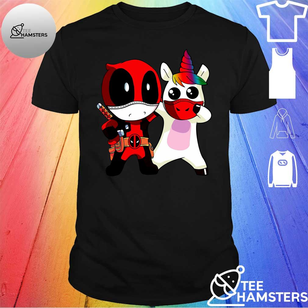 Deadpool and Unicorn shirt