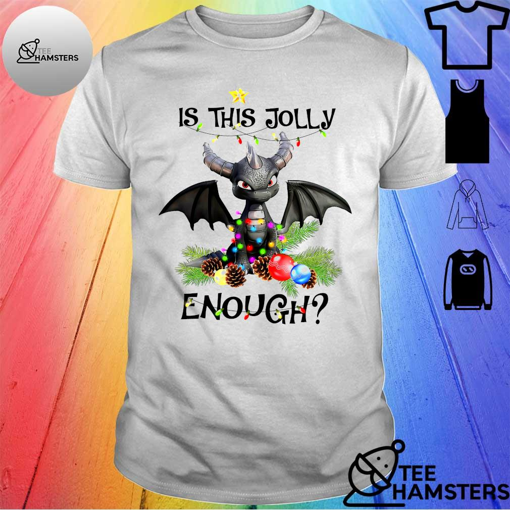 Dragon Is this jolly enough christmas shirt