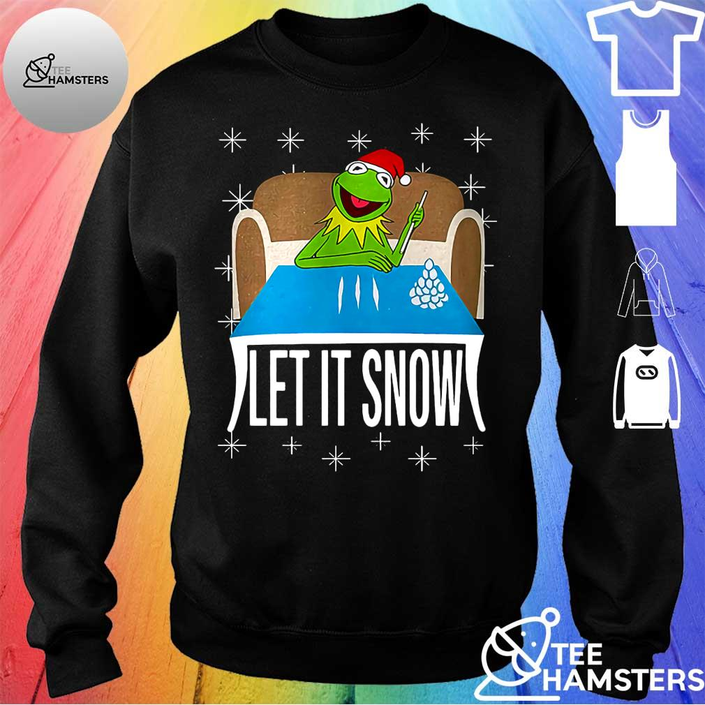 Frog let it snow christmas s sweater