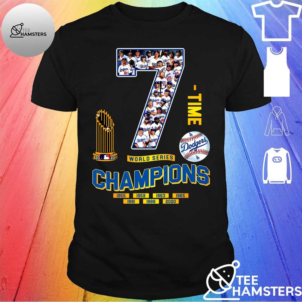 7 time World Series Champion 1955 2020 shirt