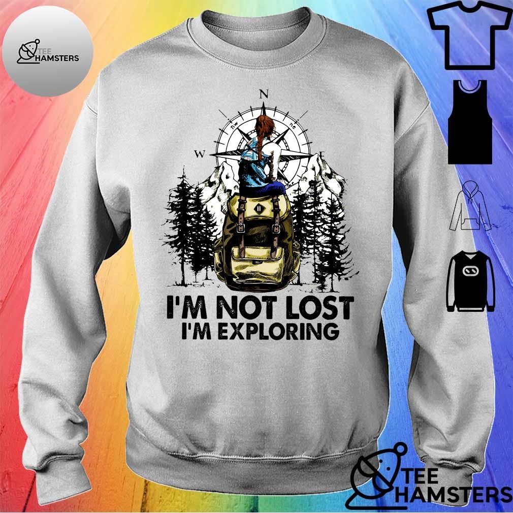 Climb mountain i'm not lost i'm exploring s sweater