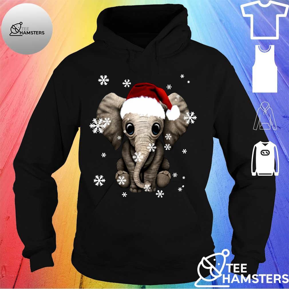 Elephant Christmas Ugly Shirt hoodie