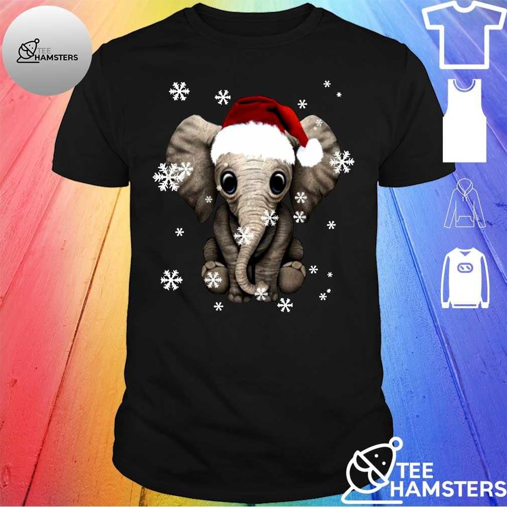 Elephant Christmas Ugly Shirt