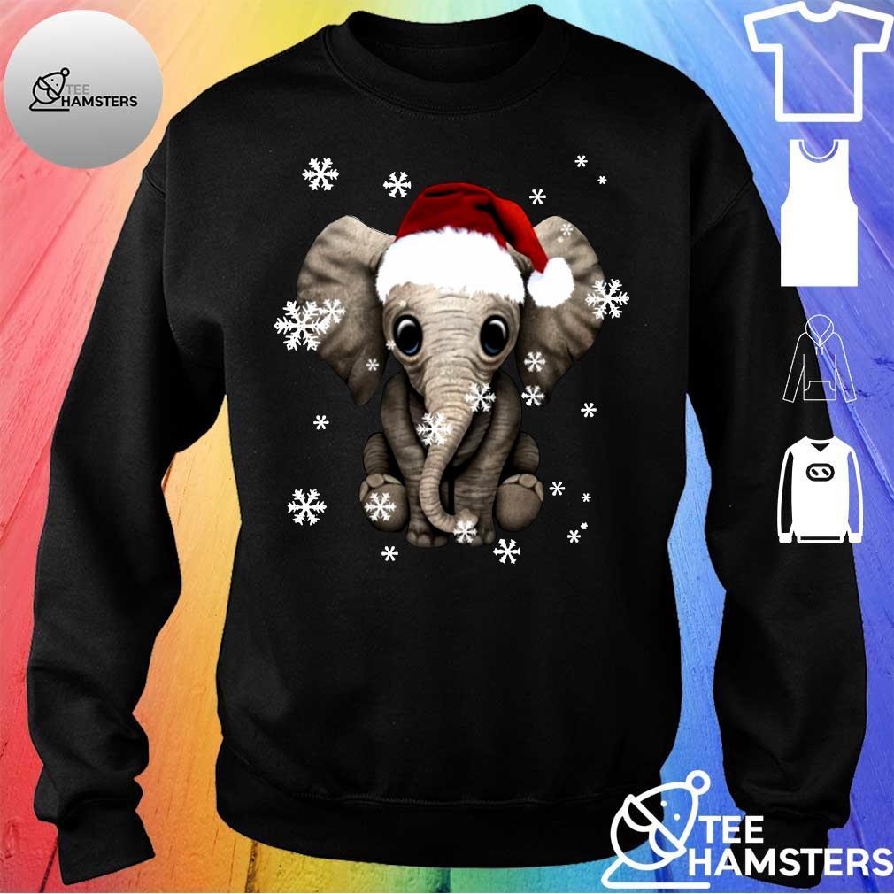 Elephant Christmas Ugly Shirt sweater