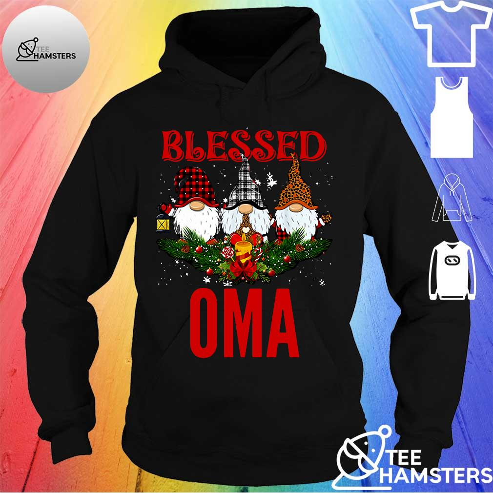 Gnomes blessed oma s hoodie