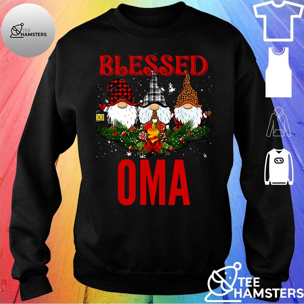 Gnomes blessed oma s sweater