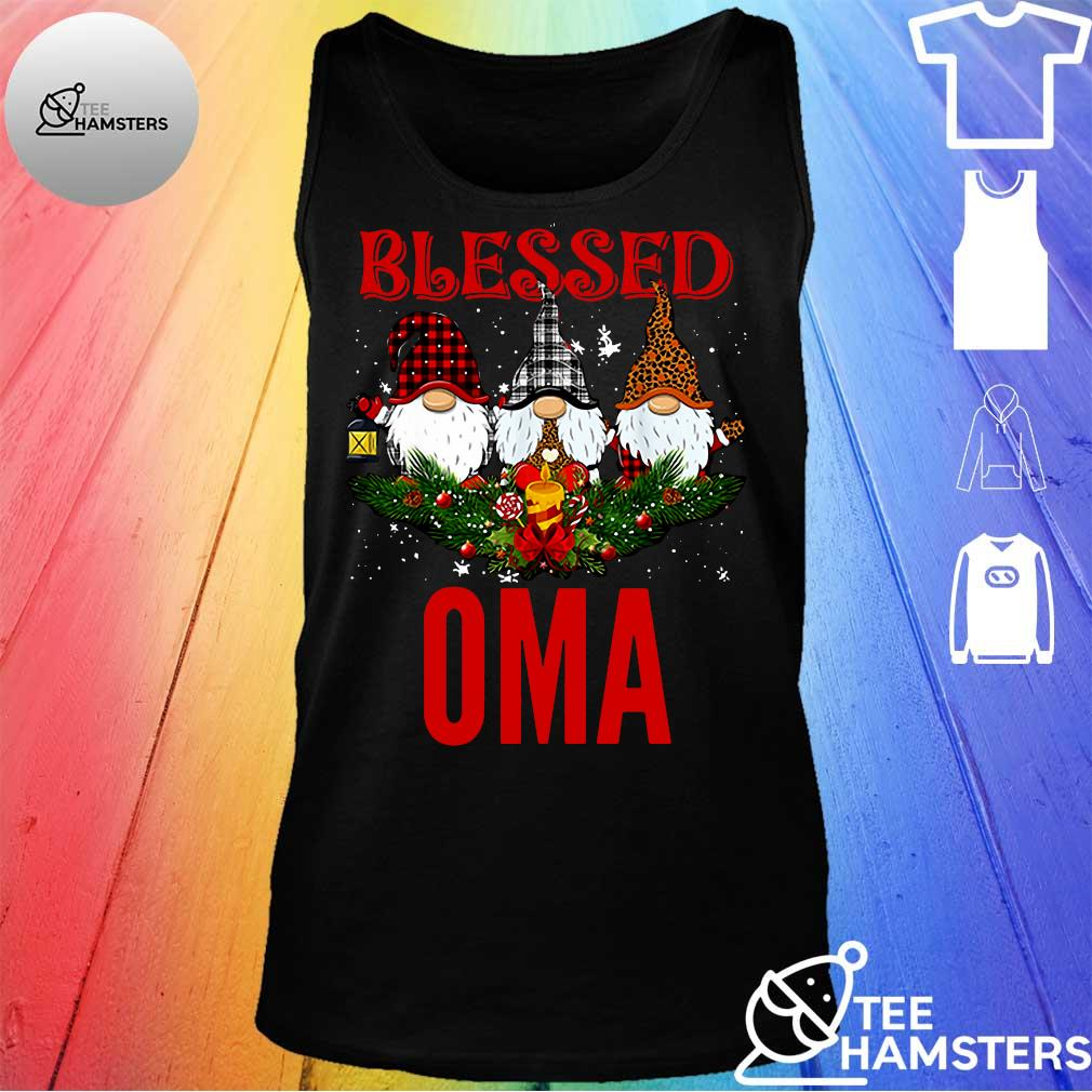 Gnomes blessed oma s tank top