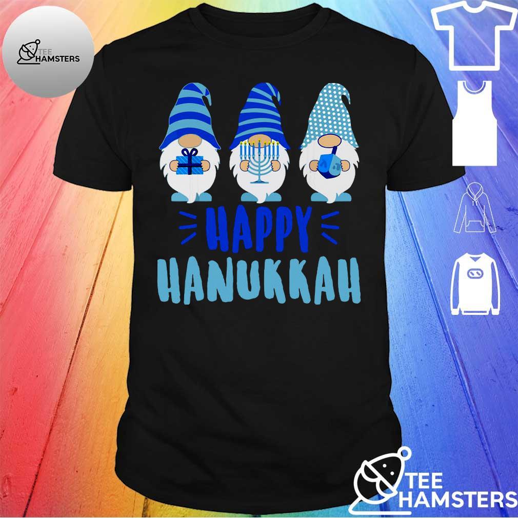 Gnomes happy hanukkah shirt