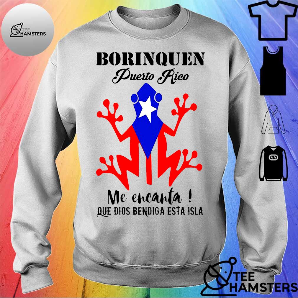 Borinquen puerto rico Me encanta que dios bendiga esta isla s sweater